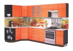 Кухня МДФ Оранж 4,6м